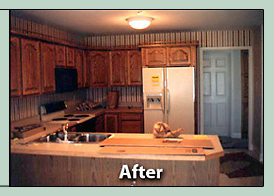 After Photo - Water Damage