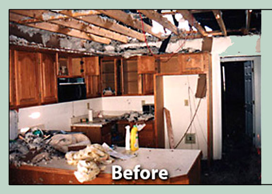 Before Photo - Water Damage