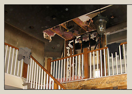 Before Photo - Fire Damage